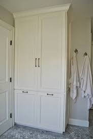 White Towel Cabinet A Disturbing Bathroom Renovation Trend To Avoid Traditional