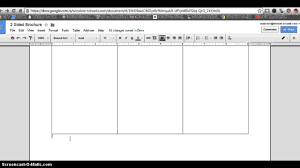how to make 2 sided brochure with google docs u2013 youtube for
