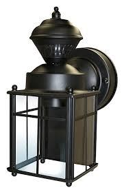 Heath Zenith Dusk To Dawn Lighting by Heath Zenith Hz 4132 Bk 150 Degree Bayside Mission Style Motion