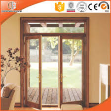 composite door glass china grille glass french hinged aluminum clad solid wood