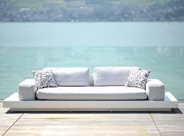 modular sofa contemporary outdoor fiberglass platform by