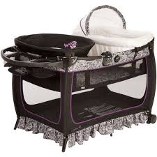 Playpen With Changing Table And Bassinet Capri Playard U0026 Bassinet U0026 Changing Station W Toys Girls Baby
