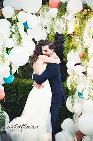 wedding arch balloons whimsical wedding arch of balloons san diego photographer ojai