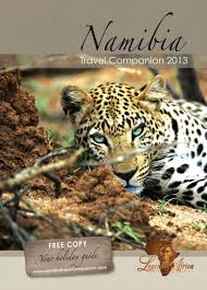 namibia travel companion 2013 by legends of africa issuu
