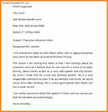 bunch ideas of sample personal reference letter for child custody