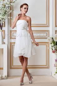 robe mariã e courte civil robe mariage pas cher chiffon courte décolletée robe205900