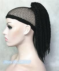 crochet braid ponytail aliexpress buy twist crochet braids hair weave ponytail
