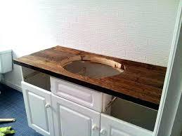 Lowes Vanity Top Vanities Diy Rustic Wood Vanity Top Http Sharktailsca 2016