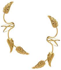 gold ear cuffs ear 3 southwest leaves gold vermeil ear cuff earrings ear