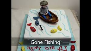 boat cake topper fishing cake
