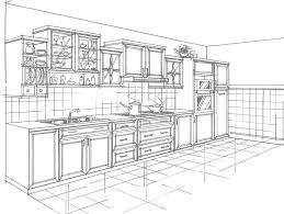 2d kitchen design entrancing 25 kitchen drawing perspective inspiration design of