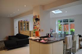 House Extension To Create Open Plan Kitchen  Family Room Hartford - Family room extensions