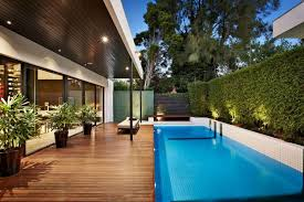 Cool Houses With Pools Stylish Melbourne Home Dazzles With A Lavish Pool Space