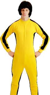 bruce yellow jumpsuit amazon com martial artist jumpsuit costume clothing