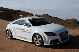 volkswagen audi group why driverless audi at pikes peak is sinister by car magazine