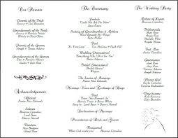 Template For Wedding Program Luxury Wedding Program Ideas Wording Wedding Ideas