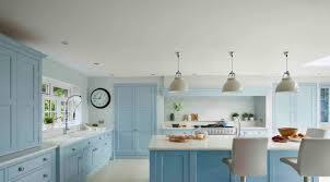 light blue kitchen cabinets uk kitchen the home