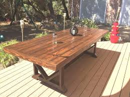 outdoor dining table plans wood patio table plans new best patio table diy outdoor dining table