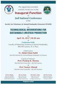 Guest Invitation Card 2nd National Conference Of Svahe Technological Interventions For