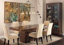 dining table rustic dining room sets wood table in modern home