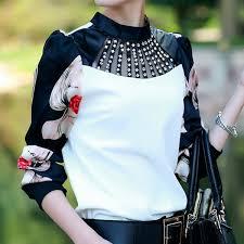 vintage blouse chemise femme fashion clothing sleeve shirt