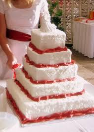 wedding cakes utah and white square buttercream wedding cake with fondant