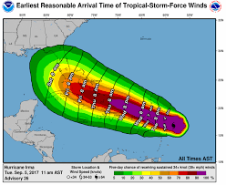 here are all the areas in hurricane irma u0027s path and when the