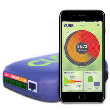 curb home energy monitoring system solar ready amazon com
