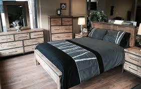 chambre acacia lit industriel inspirant mobilier chambre coucher en acacia au look