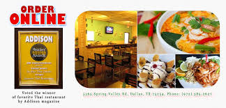 de cuisine thailandaise de rice cuisine order dallas tx 75254