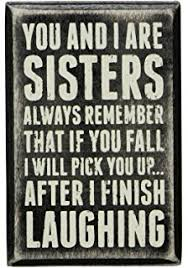 amazon com sister birthday gift ideas fate made us sisters