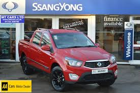 used 2017 ssangyong musso ex auto for sale in cambridgeshire