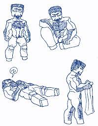 minecraft herobrine sketches 4 by silentaugust on deviantart
