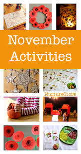 november activity plans things to do in november with