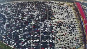thanksgiving traffic jam in los angeles is most epic news