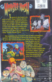 Typical Halloween Monsters by Monster Mash It U0027s A Graveyard Smash Vhscollector Com Your