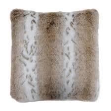 Faux Fur Throw Pillow Soft Fur Accessories Fur Rugs Throws U0026 Cushions Heal U0027s