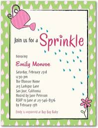 what is a sprinkle shower sprinkle baby shower party and invitations