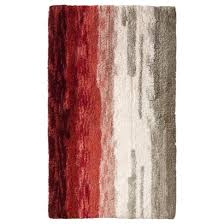 Julius Bath Rug Threshold Ombre Bath Rug Creole Red 20x34