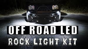 Rigid Rock Lights Led Rock Light Kit Youtube