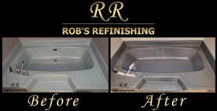 Porcelain Tub Restoration Rob U0027s Refinishing