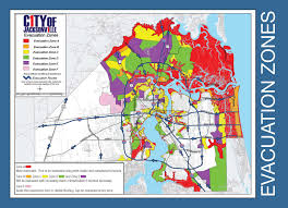 Map Florida Counties by Are You In An Evacuation Zone Click Here To Find Out
