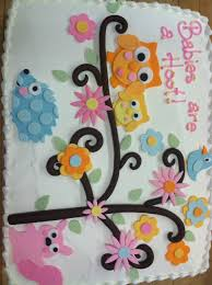 baby shower owl cakes 4202 owl baby cake café pierrot
