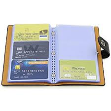 uxcell 240 cards business name credit card holder
