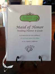 of honor planner book of honor wedding planner organizer book by organizedbride