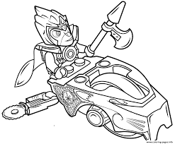chima coloring page lego chima eagle legend beast coloring page