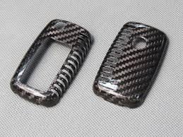 lexus key fob skin deluxe real carbon fiber remote flip key cover case skin shell for