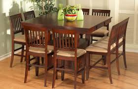 Chair  Chair Dining Table Sets Gallery Room And Table - Bar height dining table with 8 chairs