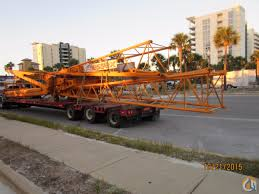tower attachment for manitowoc 4100 crane for in fontana
