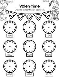 time worksheets grade 1 telling time worksheets printable